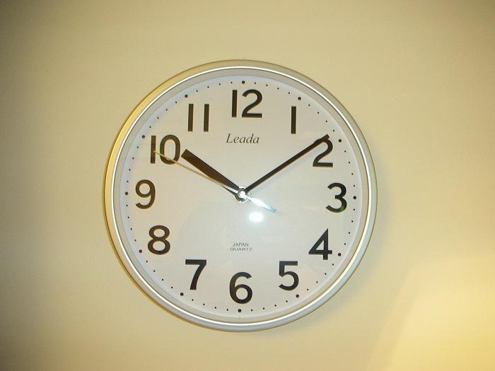 鐘 鐘 鐘 Clock Clock Clock Rhythm Qtz Wall Clock 麗聲優質石英